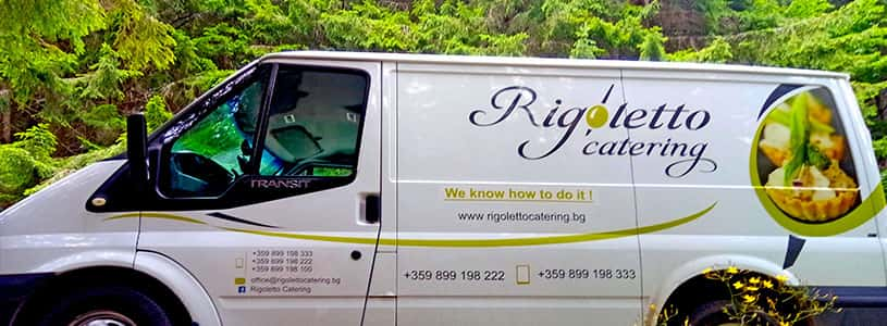 Rigoletto catering light commercial vehicle